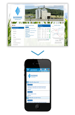 mobile Website Bayernhof GmbH in Hankofen