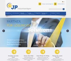 Screenshot JP Industrieanlagen GmbH in Straubing