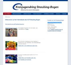 Screenshot Kreisjugendring Straubing-Bogen
