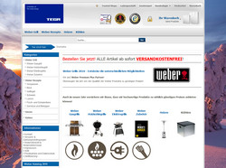 TEGA Shop - Weber Premium Plus Partner