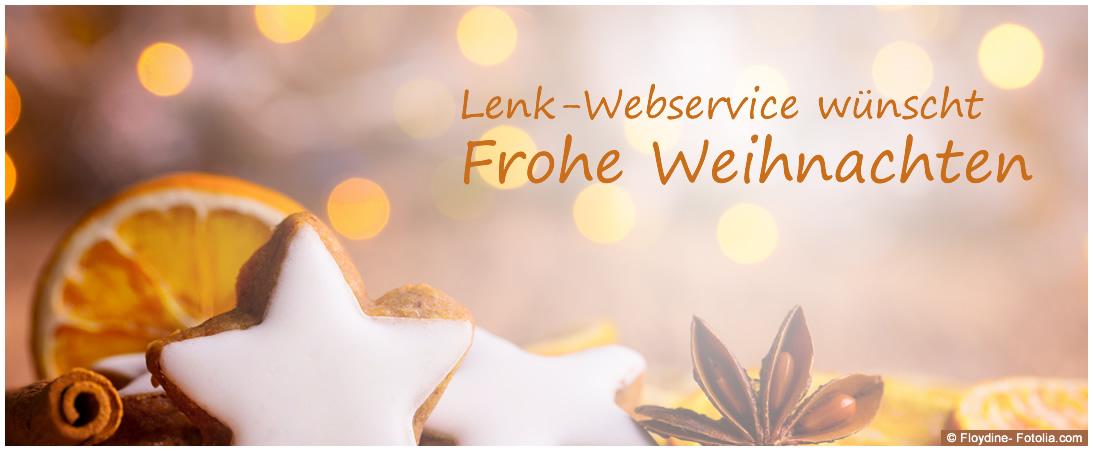 Lenk-Webservice wünscht frohe Weihnachten 2017